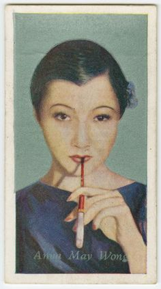 """#1 Anna May Wong - """"Film Favorites from the NYPL Digital Collections."""