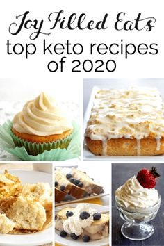Happy New Year!As challenging as 2020 was it did have some yummy new recipes! These are gluten-free, low carb, trim healthy mama friendly, and really are the BEST keto recipes from this last year!
