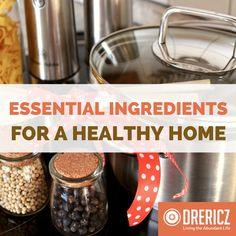 Z and Mama Z's approved list of essential ingredients and products for a healthy home. From kitchen gadgets to aromatherapy tools - view extensive list! Daily Health Tips, Health Articles, Home Health, Health And Wellness, Essential Oil Diffuser, Essential Oils, Remedy Spa, Kitchen Essentials List, Homemade Body Care