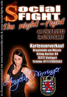 Friday 26 April 2013     Kulturhaus Arena, Stuttgart, Baden-Württemberg, Germany commission: Federation Luxembourgeoise de Boxe promoter: Bernd Klumpp (Social Events GbR) 8 rounds    middleweight  ...