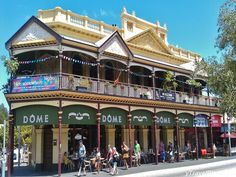 Daily Photo: Cappuccino Strip in Fremantle Australia - http://www.ytravelblog.com/fremantle-australia/