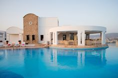 The Pool at the Doria Hotel in Bodrum, Turkey