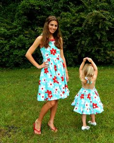 Daisy Pop girls stylish dress by SoSoHippo on Etsy