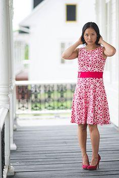 Robe diva rose par Rien ne se perd, tout se crée... www.rienneseperd.com