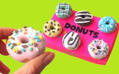 DIY: How to make DONUTS ERASERS - Back to school supplies