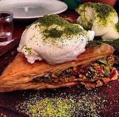 . Turkish Baklava, Pork, Meat, Desserts, Traditional, Kitchens, Kale Stir Fry, Tailgate Desserts, Deserts