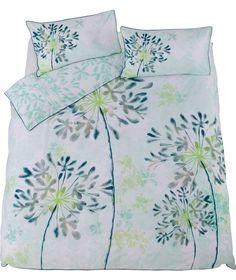 Buy Dominique Green Bedding Set - Double at Argos.co.uk - Your Online Shop for Duvet cover sets.