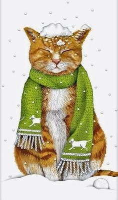"** "" Whenz winter over; betcha trees willz be releafed."" Ginger Cats, Merry Christmas Cat, Mary Christmas, Cat Christmas Cards, Vintage Christmas, Fancy Dress For Dogs, Cat Cold, Effective Leadership, I Love Cats"