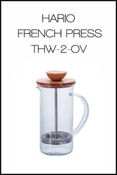 Hario French Press HW 2 OV | French Press | 450k