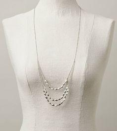 aeo layered bead necklace