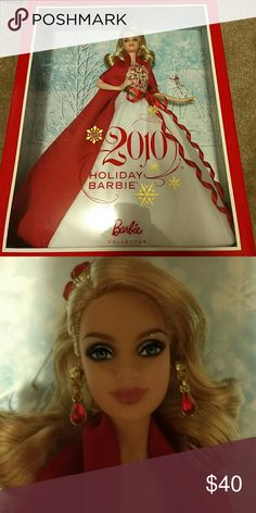 2010 Holiday Barbie In box Mattel Other