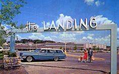 The Landing Kansas City MO.  Loved this place when it opened when I was a kid.  They had concrete animal sculptures you could climb on!!