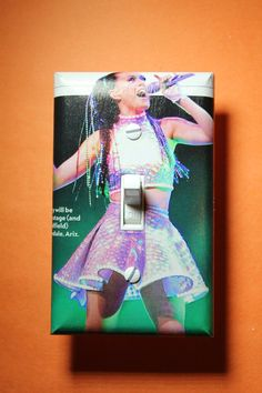 Katy Perry Light Switch Plate Cover girls child by ComicRecycled