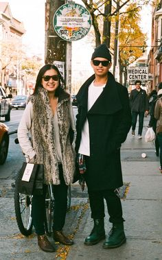 Toronto Street Fashion: Linda & Josh