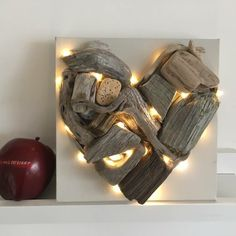 treibholz lampe diy ideen wandekoration