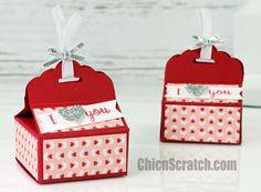 Scallop Top Valentine Box http://mychicnscratch.com/2016/01/scallop-top-valentine-box.html
