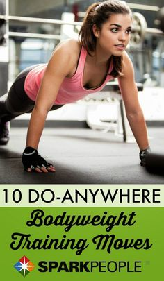 10 Body-Weight Training Exercises | Fitnessly