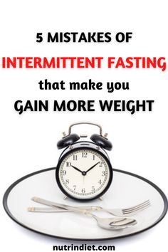 What doesn't often happen to some people is the desire to eat, which is different. For many people it is more difficult to resist the urge to eat that delicious weekend food, for example, but hunger is often overcome. #GainWeight #IntermittentFasting