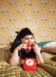 Beth Ditto from Frankie Magazine Nov-Dec '12 issue! WWBDD?
