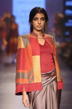 Cape jacket - Lakmé Fashion Week – TARUN TAHILIANI AT LFW WF 2015