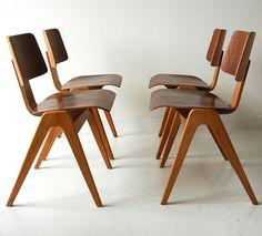 Robin Day Hille Stak Chair X 1 Retro Vintage Midcentury Modern Antique
