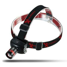 Xtreme Bright® Ultra Bright Zoomable LED Headlamp Flashlight - 3 Light-Modes