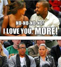 HAHAHAHAHA, this is HILARIOUS.  Yeezy is SPRUNG.