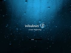 Windows 8- Windshield Windows 8, Apple Ipad, New Beginnings, Microsoft, Wallpaper, Android, Products, Wallpapers, Gadget