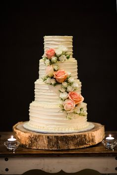Elegant foodie wedding in brisbane wedding cake wedding cake Gorgeous Cakes, Pretty Cakes, Amazing Cakes, Bolos Naked Cake, Wedding Cake Fresh Flowers, Floral Wedding, Cake Flowers, Flower Cakes, Purple Wedding