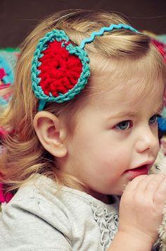 DIY | Crochet Heart Headband