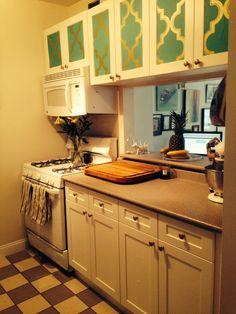 Railroad kitchen ny kitchen wallpaper in kitchen ideas for Thick kitchen wallpaper