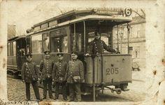 1912 , Tramwaj typu Berolina linii 6, trasa prowadziła przez Rynek do Strehlener Tor, gdzie to było?