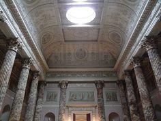 The Marble Hall in Kedleston Hall - Robert Adam