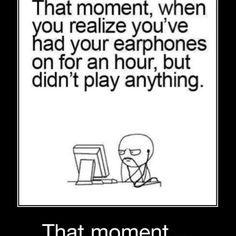 That moment....