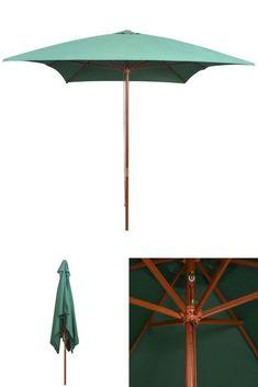 Green Rectangular Parasol Outdoor Porch Yard Deck Umbrella Shelter Canopy Shade for sale online Deck Umbrella, Canopies, Shelter, Gazebo, Porch, Yard, Shades, Patio, Best Deals