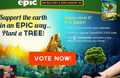 Support the Earth in an EPIC way...Plant a TREE for FREE! ~ on CouponCrazyFreebieFanatic.com