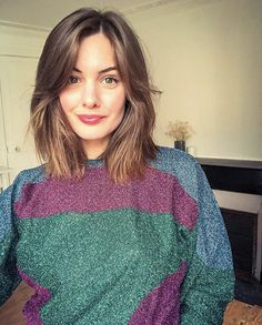 Likes, 42 Kommentare – Daphne Narcy ( on Inst … – # comment - frisuren - Frisuren New Short Haircuts, Oval Face Haircuts, Straight Hairstyles, Easy Hairstyles, Hairstyle Short, School Hairstyles, Natural Hairstyles, Thick Haircuts, Office Hairstyles