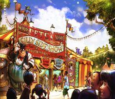 Petes-Silly-Sideshow-Storybook-Circus-Disney-Fantasyland-Expansion.jpg (1050×905)