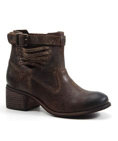 Chocolate Winding Road Leather Boot