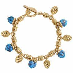 LMJ - Sunshine Twist Charms Bracelet