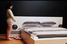 Spanish furniture maker OHEA has developed the Smart Bed, a bed that is programmed to do that annoying task no one ever wants to do – it makes itself! The bed is equipped with a device that allows it to automatically straighten the bedding once the occupant has gotten out of the bed and left it unmade.