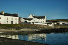 Sunny April morning in Port Charlotte, Isle of Islay