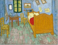 Vincent Van Gogh - The Bedroom Painting