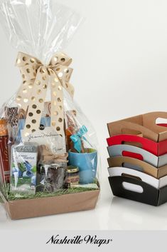 efe25c0ec Market Trays are a great way to change up the everyday gift basket look.  They