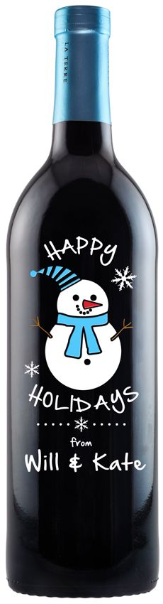 Christmas is near. Send your loved one a great bottle of wine with a thoughtful message. Your words will be heard from miles away. #holidays #Gift $75.99