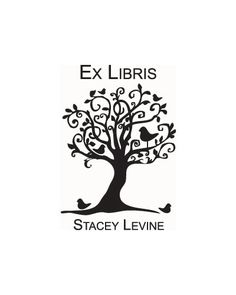 Bookplate Stamp Ex Libris custom tree stamp