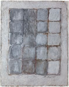 Eva Hesse. Untitled One of the 'Window Drawings' series started in Woodstock during the summer of 1969