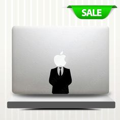 Mr-laptop Decal MacBook decal macbook air sticker macbook pro decal 1158. $6.99, via Etsy.