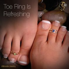 Toe Ring (a.k.a. Poli, Pola)...generally made of ‪#‎silver‬ are worn by ‪#‎married‬ ‪#‎women‬, especially among Hindus. Poli, worn in two toe fingers (second and/or third) is believed, to ‪#‎revitalize‬ the ‪#‎reproductive‬ organ. Silver being a good ‪#‎conductor‬, absorbs polar energy from ‪#‎earth‬ and passes to body, thus refreshing whole body system.‪#‎WonderJewelry‬