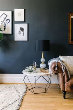 Shedding Some Light on Dark Walls. Benjamin Moore's Witching Hour